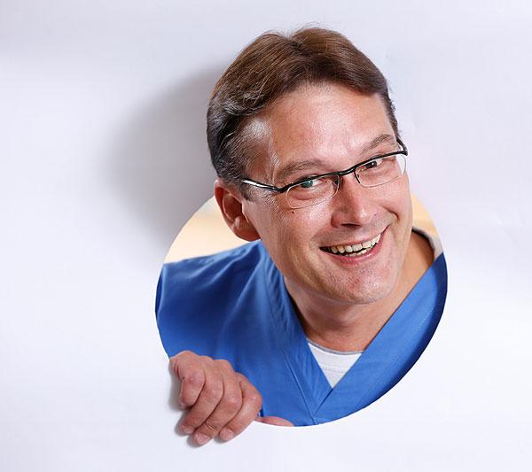 Prof. Dr. Griebenow persönlich